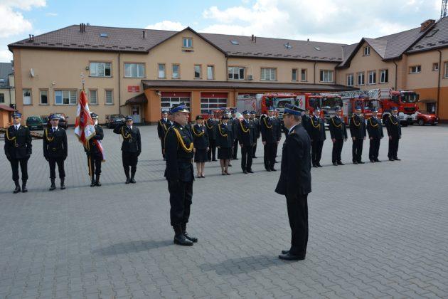 21ds1 Dzień strażaka w Zamościu. Awanse i odznaczenia (zdjęcia)