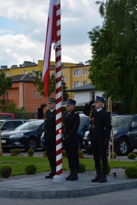 21ds10 Dzień strażaka w Zamościu. Awanse i odznaczenia (zdjęcia)