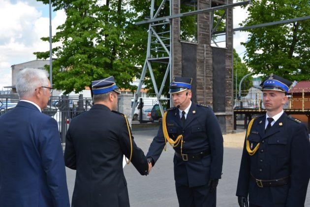 21ds19 Dzień strażaka w Zamościu. Awanse i odznaczenia (zdjęcia)