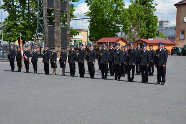21ds7 Dzień strażaka w Zamościu. Awanse i odznaczenia (zdjęcia)