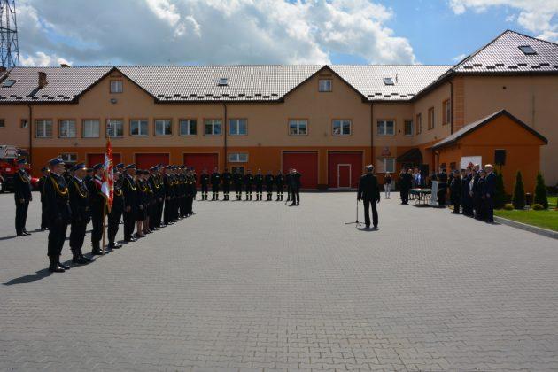 21ds8 Dzień strażaka w Zamościu. Awanse i odznaczenia (zdjęcia)