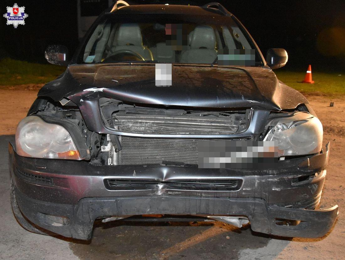 68 184395 Kierując Volvo zabił dwóch mężczyzn