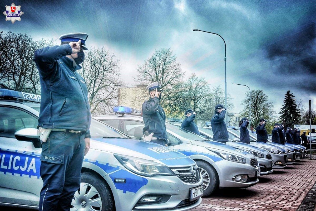 68 184491 Policjanci pożegnali swojego kolegę (zdjęcia i film)