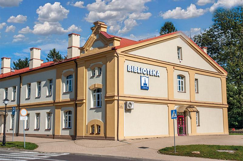 biblioteka budynek Książnica Zamojska prosi o pomoc pomoc w utworzeniu księgozbioru obcojęzycznego.