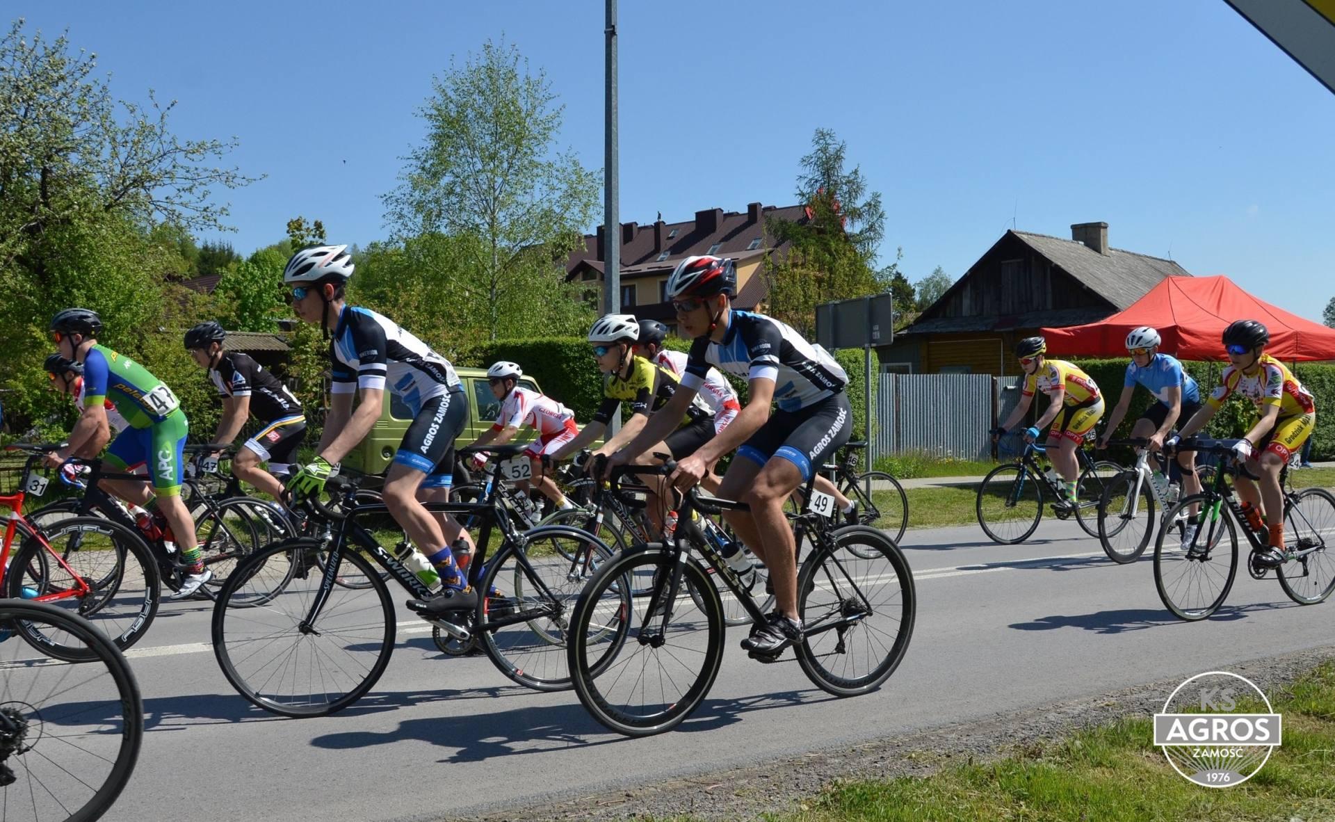 dsc 0367 Wyścig kolarski utrudni ruch na drogach Zamojszczyzny.