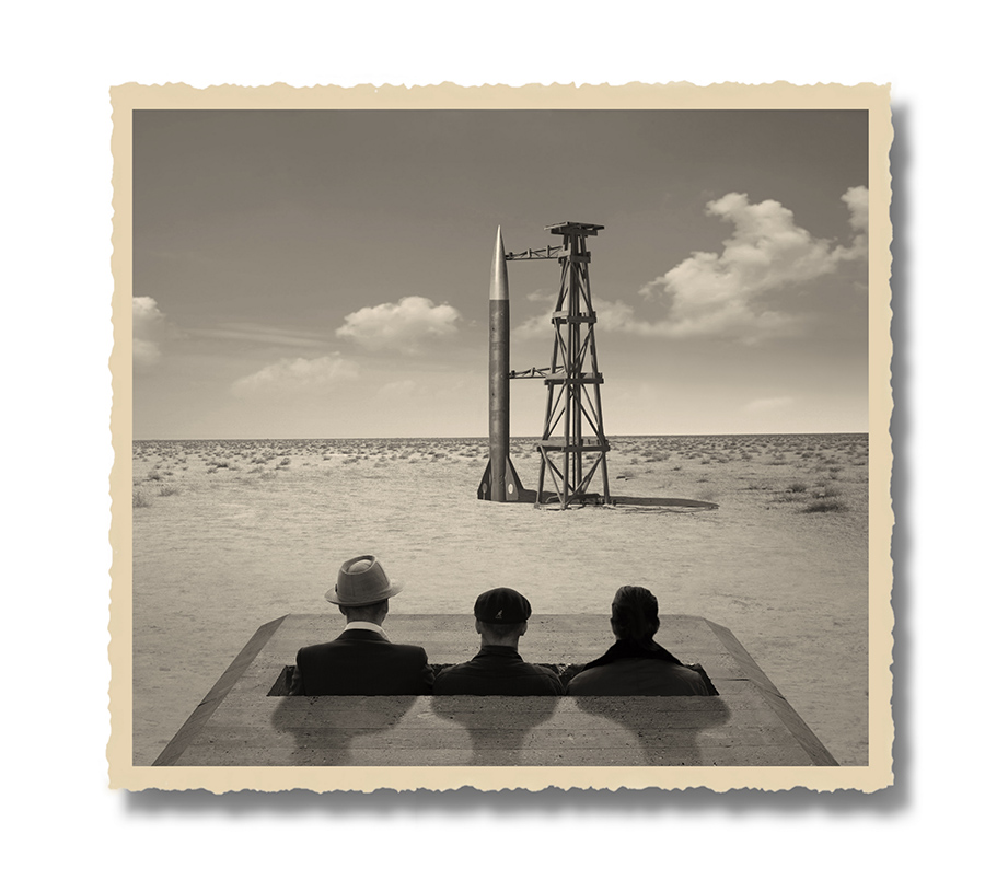 """herbrich the truth about moon landing 2 res ZAMOŚĆ: Wystawa fotografii Thomasa Herbricha pt. """"Lądowanie na księżycu - historia prawdziwa""""."""