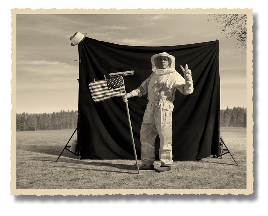"""herbrich the truth about moon landing 6 res ZAMOŚĆ: Wystawa fotografii Thomasa Herbricha pt. """"Lądowanie na księżycu - historia prawdziwa""""."""