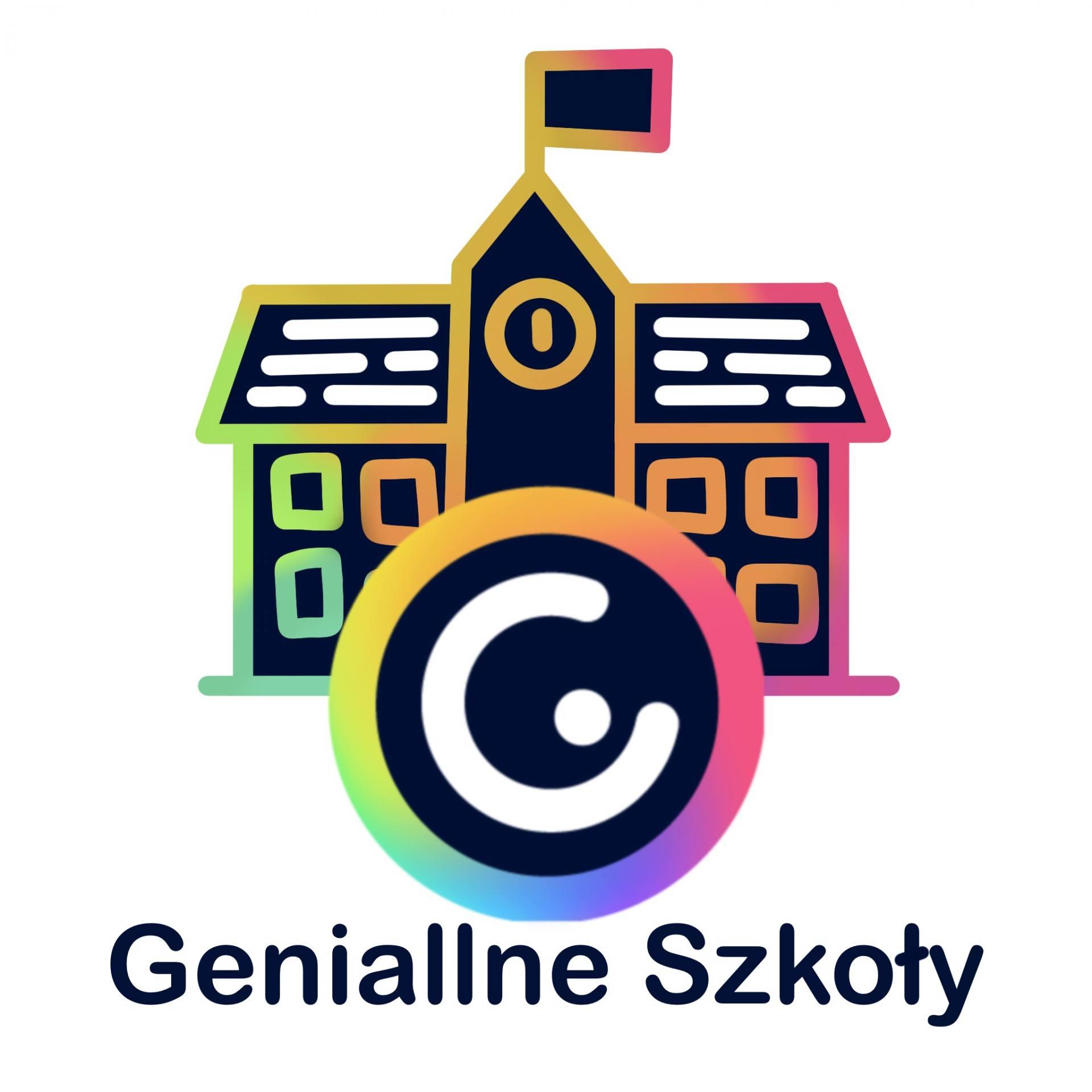 logo geniallne szkoly Zamojska