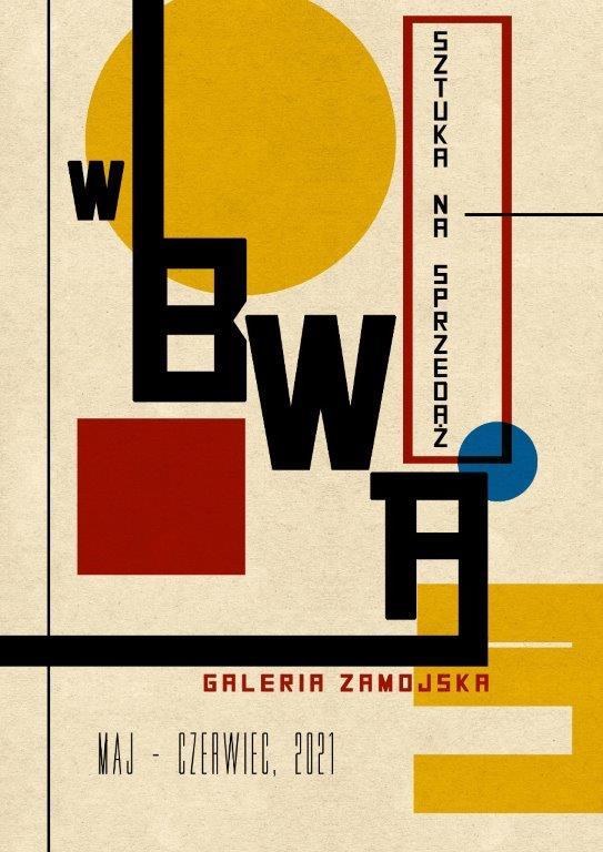 """poster 1 """"Sztuka na sprzedaż"""" w BWA"""