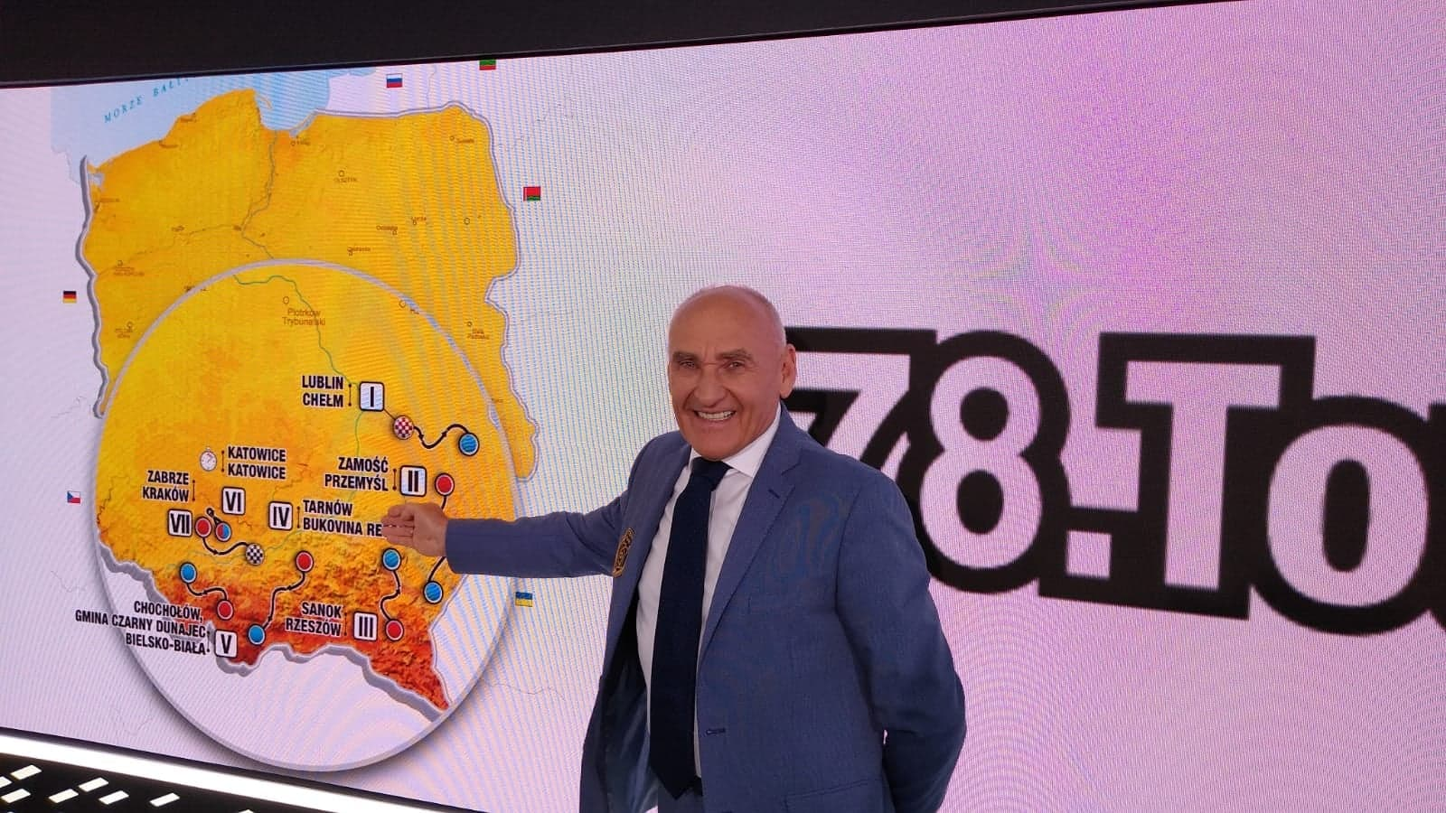 prezentacja trasy 78 tdp Zamość na trasie 78. Tour de Pologne! [FILM]