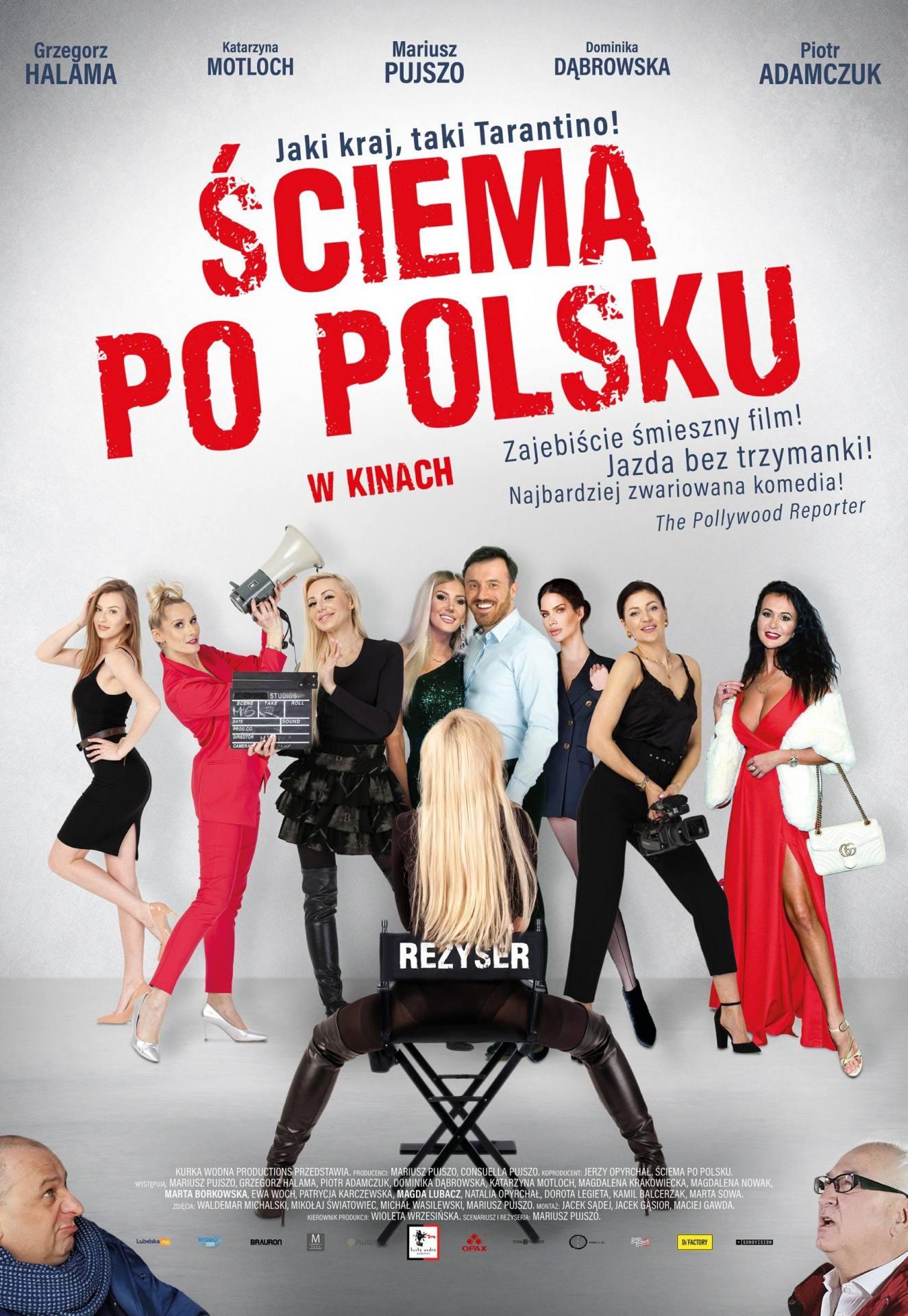 sciema po polski plakat
