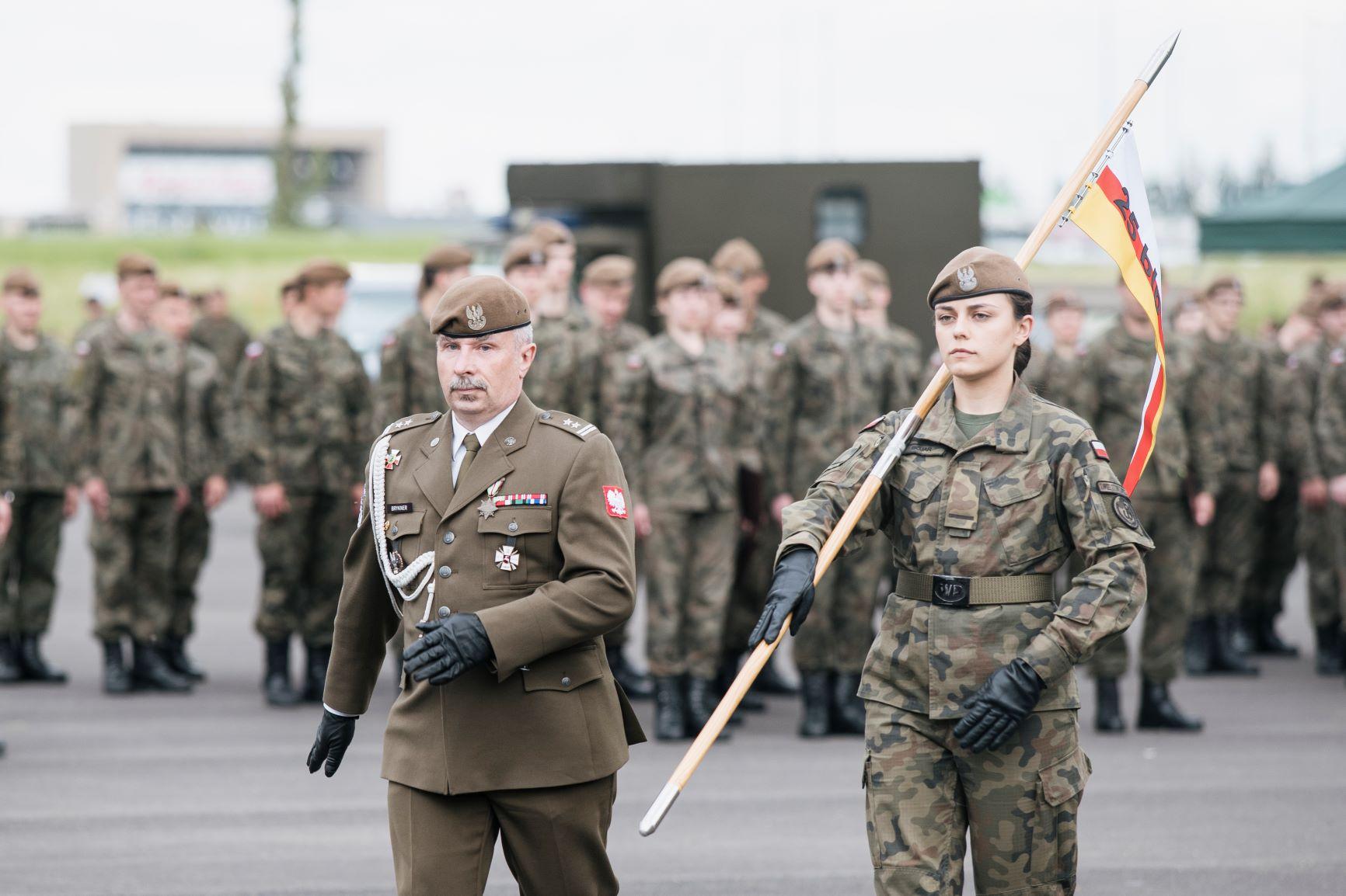25zblp nadanie tradycji i patrona 2m Zamojscy Terytorialsi otrzymali patrona i tradycje