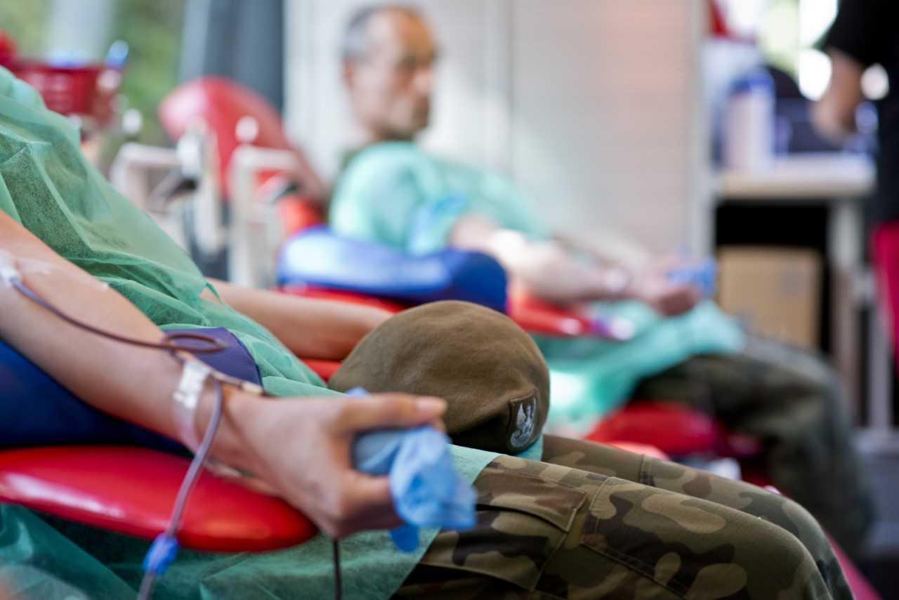 2lbot krwiodawcy 1 Blisko 2 500 litrów oddanej krwi. Krwiodawcy 2 LBOT podsumowują działalność