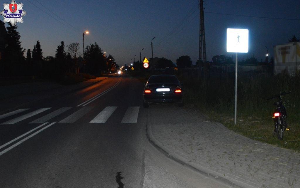 361 185727 11-latek potrącony na pasach przez BMW.