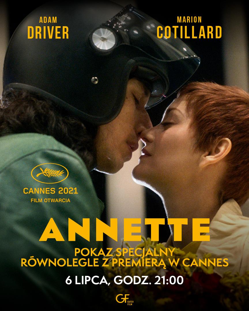 "annette 864x1080 1 ZAMOŚĆ: ""Annette"" – równolegle z premierą w Cannes!"