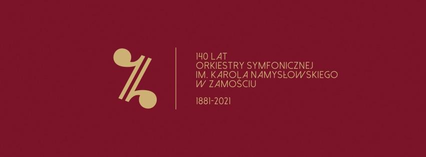 back bordo 300 3 Zamojska Orkiestra zaprezentowała logo i plan jubileuszu 140-lecia
