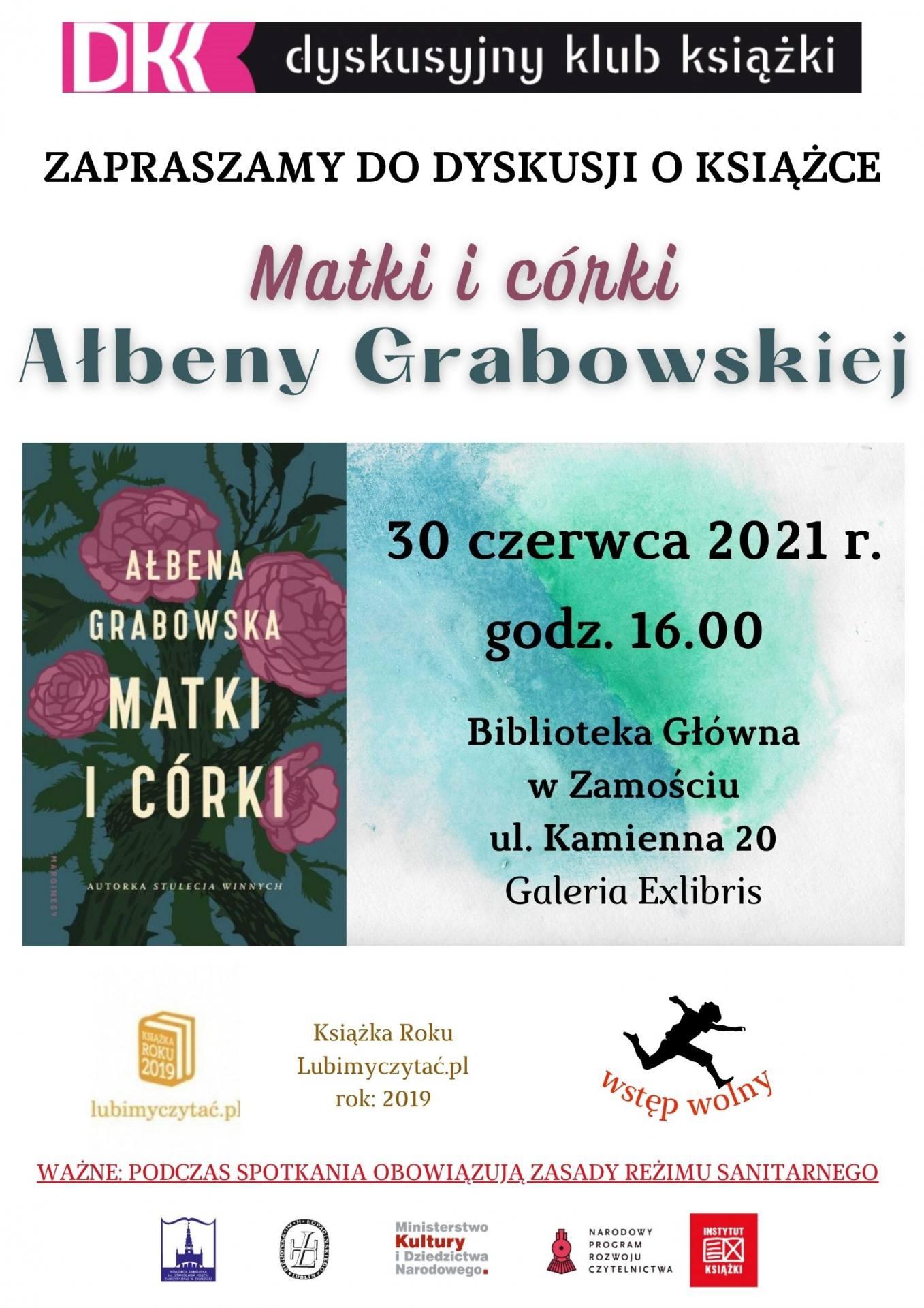 dkkczerwiec2021 Matki i córki Ałbeny Grabowskiej-Grzyb – spotkanie DKK
