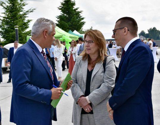 dsc 6966 Zamojskie Zakłady Zbożowe otworzyły w Skierbieszowie nowy punkt skupu zbóż [ZDJĘCIA, FILM]