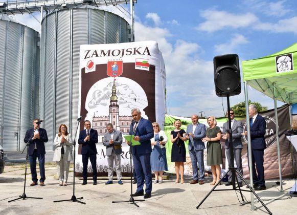 dsc 6977 Zamojskie Zakłady Zbożowe otworzyły w Skierbieszowie nowy punkt skupu zbóż [ZDJĘCIA, FILM]