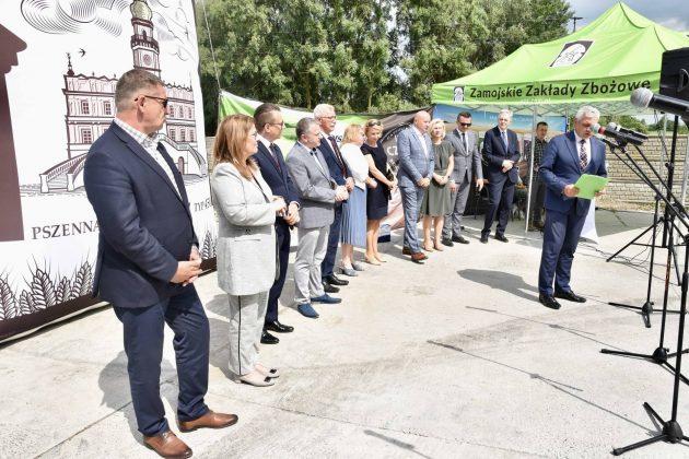 dsc 6982 Zamojskie Zakłady Zbożowe otworzyły w Skierbieszowie nowy punkt skupu zbóż [ZDJĘCIA, FILM]