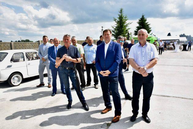 dsc 6984 Zamojskie Zakłady Zbożowe otworzyły w Skierbieszowie nowy punkt skupu zbóż [ZDJĘCIA, FILM]