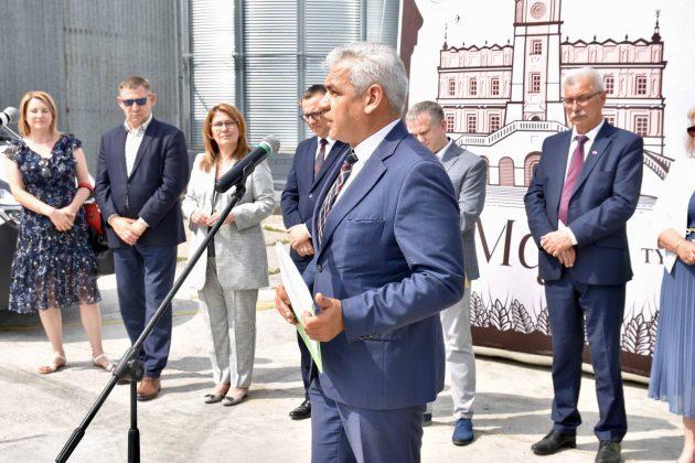 dsc 6987 Zamojskie Zakłady Zbożowe otworzyły w Skierbieszowie nowy punkt skupu zbóż [ZDJĘCIA, FILM]