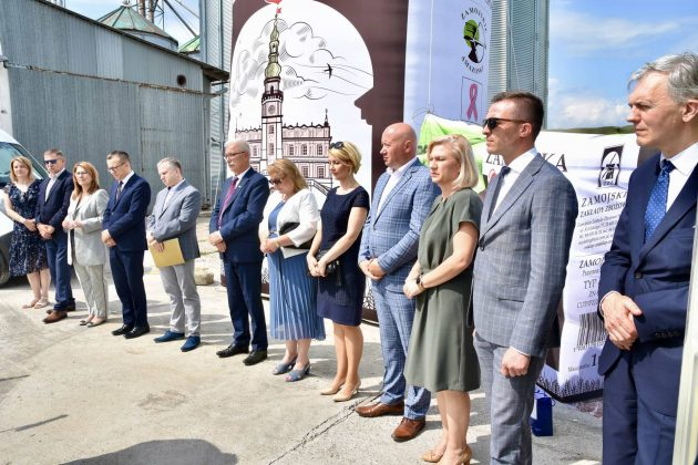 dsc 6991 Zamojskie Zakłady Zbożowe otworzyły w Skierbieszowie nowy punkt skupu zbóż [ZDJĘCIA, FILM]