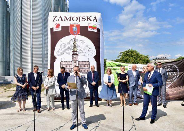 dsc 6996 Zamojskie Zakłady Zbożowe otworzyły w Skierbieszowie nowy punkt skupu zbóż [ZDJĘCIA, FILM]