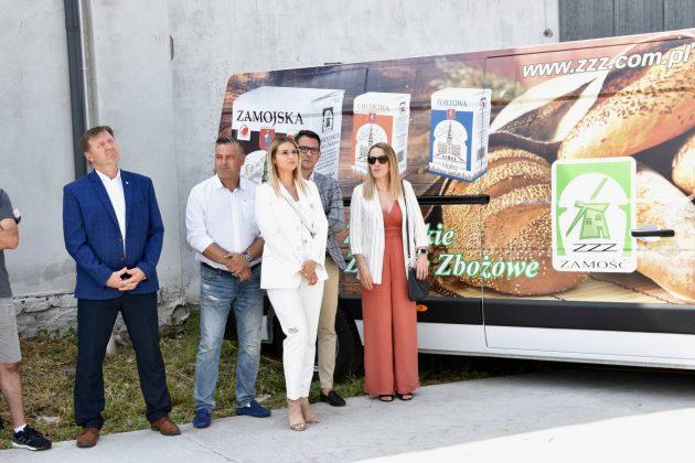 dsc 6997 Zamojskie Zakłady Zbożowe otworzyły w Skierbieszowie nowy punkt skupu zbóż [ZDJĘCIA, FILM]