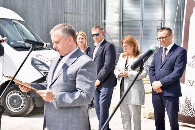 dsc 6998 Zamojskie Zakłady Zbożowe otworzyły w Skierbieszowie nowy punkt skupu zbóż [ZDJĘCIA, FILM]