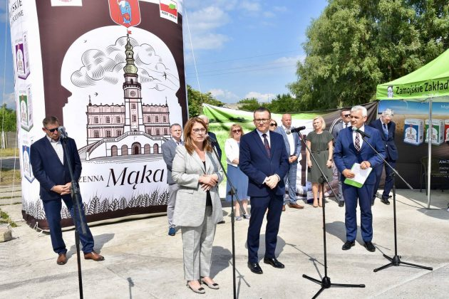 dsc 7003 Zamojskie Zakłady Zbożowe otworzyły w Skierbieszowie nowy punkt skupu zbóż [ZDJĘCIA, FILM]