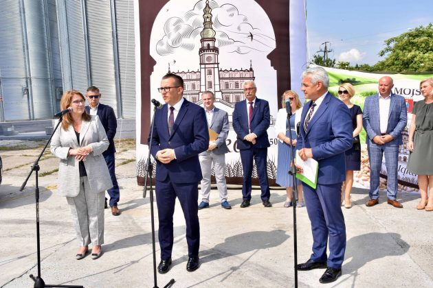 dsc 7009 Zamojskie Zakłady Zbożowe otworzyły w Skierbieszowie nowy punkt skupu zbóż [ZDJĘCIA, FILM]