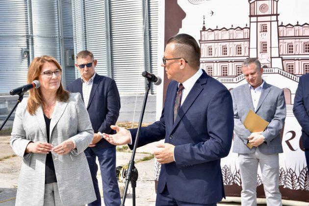 dsc 7010 Zamojskie Zakłady Zbożowe otworzyły w Skierbieszowie nowy punkt skupu zbóż [ZDJĘCIA, FILM]