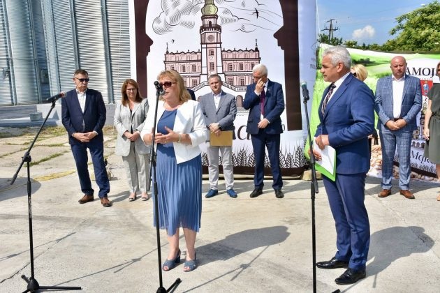 dsc 7013 Zamojskie Zakłady Zbożowe otworzyły w Skierbieszowie nowy punkt skupu zbóż [ZDJĘCIA, FILM]