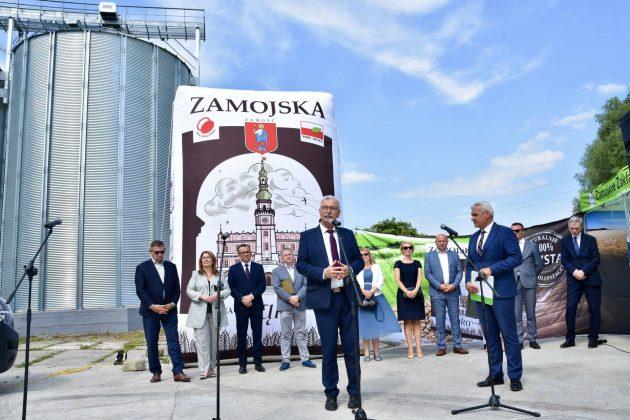 dsc 7018 Zamojskie Zakłady Zbożowe otworzyły w Skierbieszowie nowy punkt skupu zbóż [ZDJĘCIA, FILM]