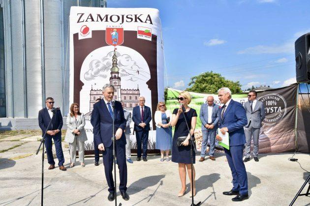 dsc 7023 Zamojskie Zakłady Zbożowe otworzyły w Skierbieszowie nowy punkt skupu zbóż [ZDJĘCIA, FILM]
