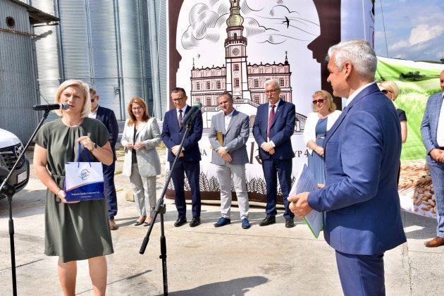dsc 7025 Zamojskie Zakłady Zbożowe otworzyły w Skierbieszowie nowy punkt skupu zbóż [ZDJĘCIA, FILM]