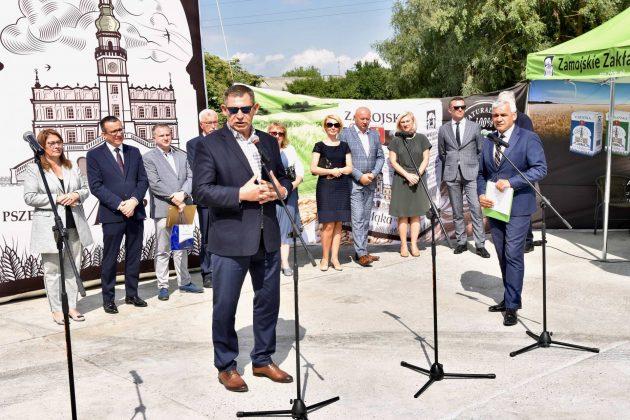 dsc 7032 Zamojskie Zakłady Zbożowe otworzyły w Skierbieszowie nowy punkt skupu zbóż [ZDJĘCIA, FILM]