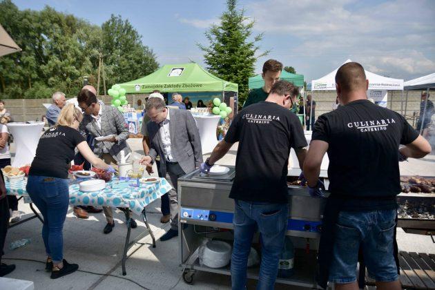 dsc 7042 Zamojskie Zakłady Zbożowe otworzyły w Skierbieszowie nowy punkt skupu zbóż [ZDJĘCIA, FILM]
