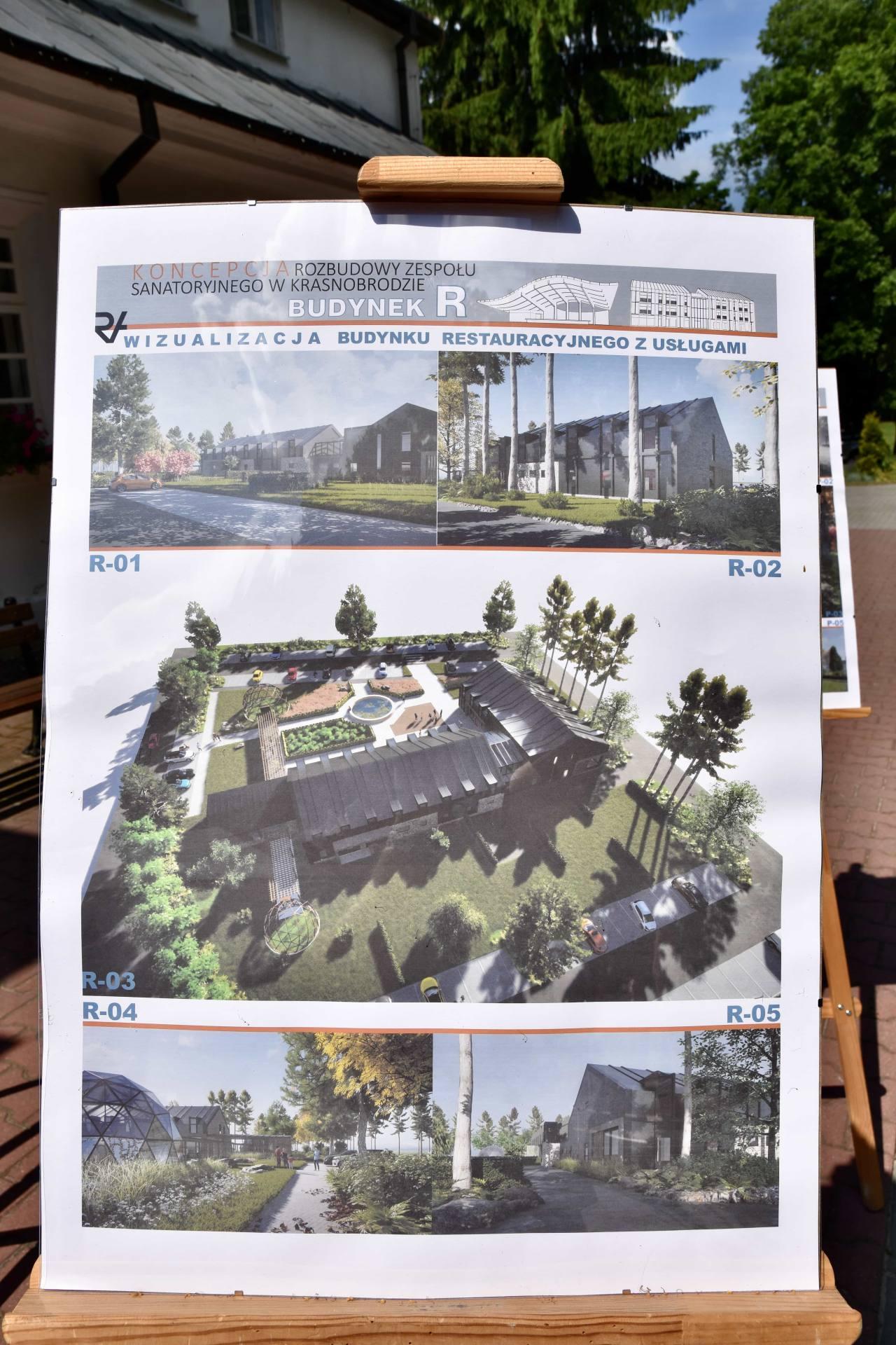 dsc 7385 Za 80 mln zł rozbudowane zostanie sanatorium w Krasnobrodzie.