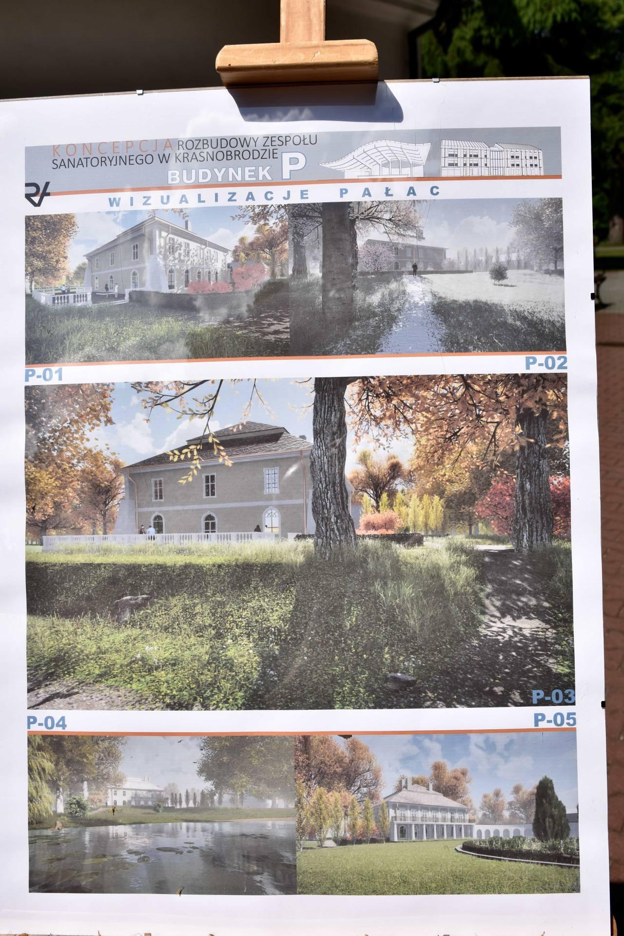 dsc 7387 Za 80 mln zł rozbudowane zostanie sanatorium w Krasnobrodzie.