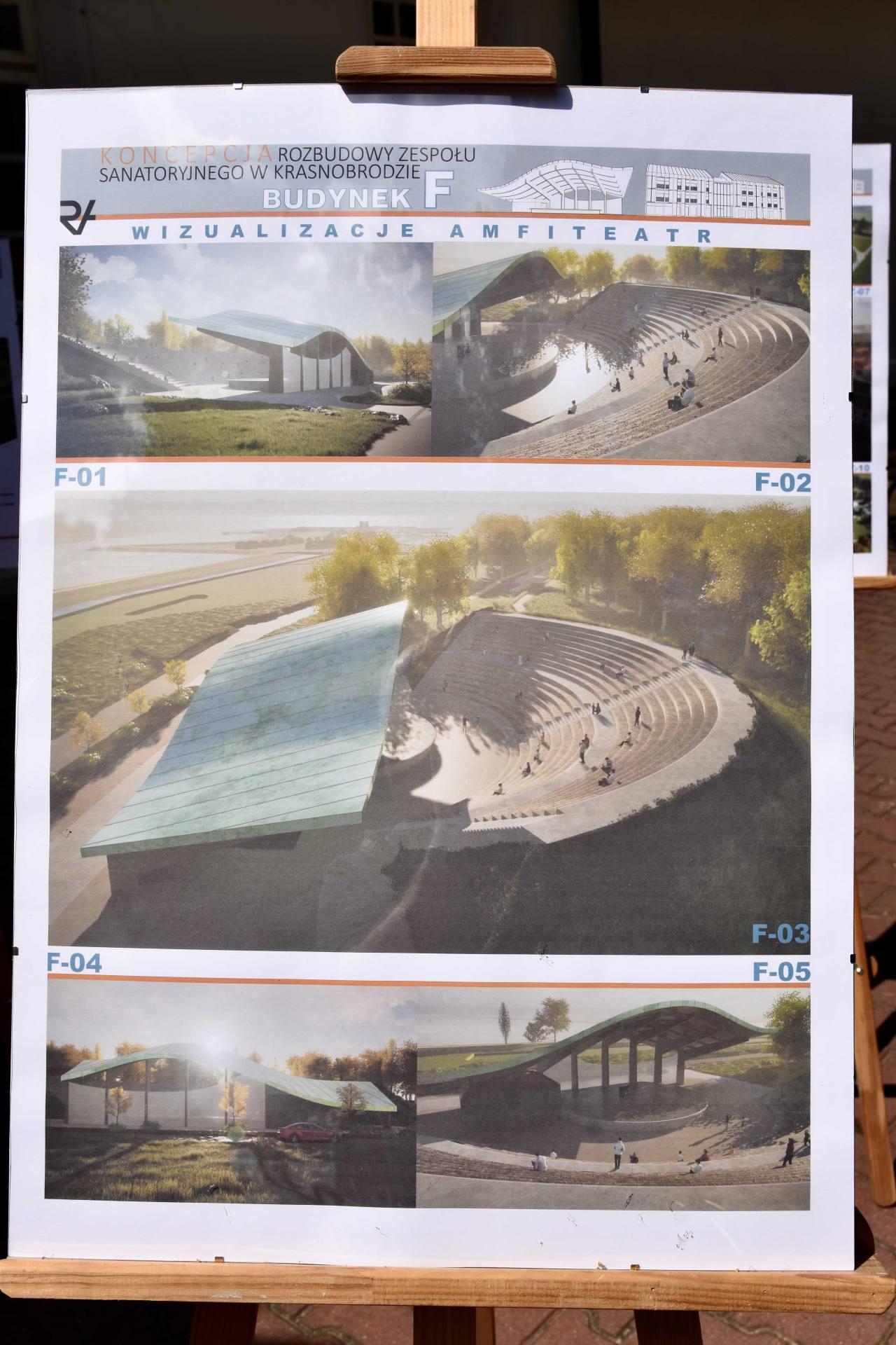dsc 7388 Za 80 mln zł rozbudowane zostanie sanatorium w Krasnobrodzie.