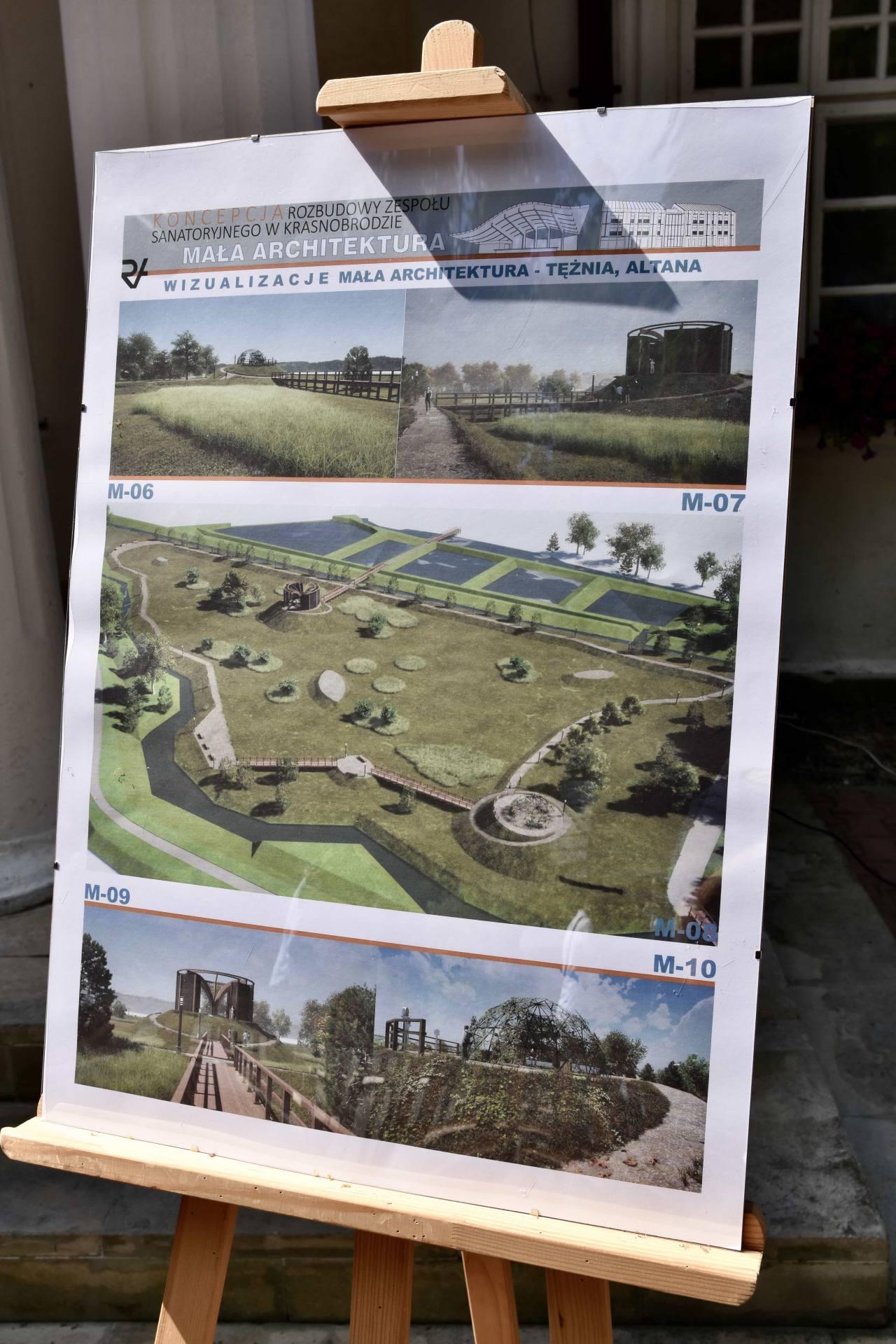 dsc 7389 Za 80 mln zł rozbudowane zostanie sanatorium w Krasnobrodzie.