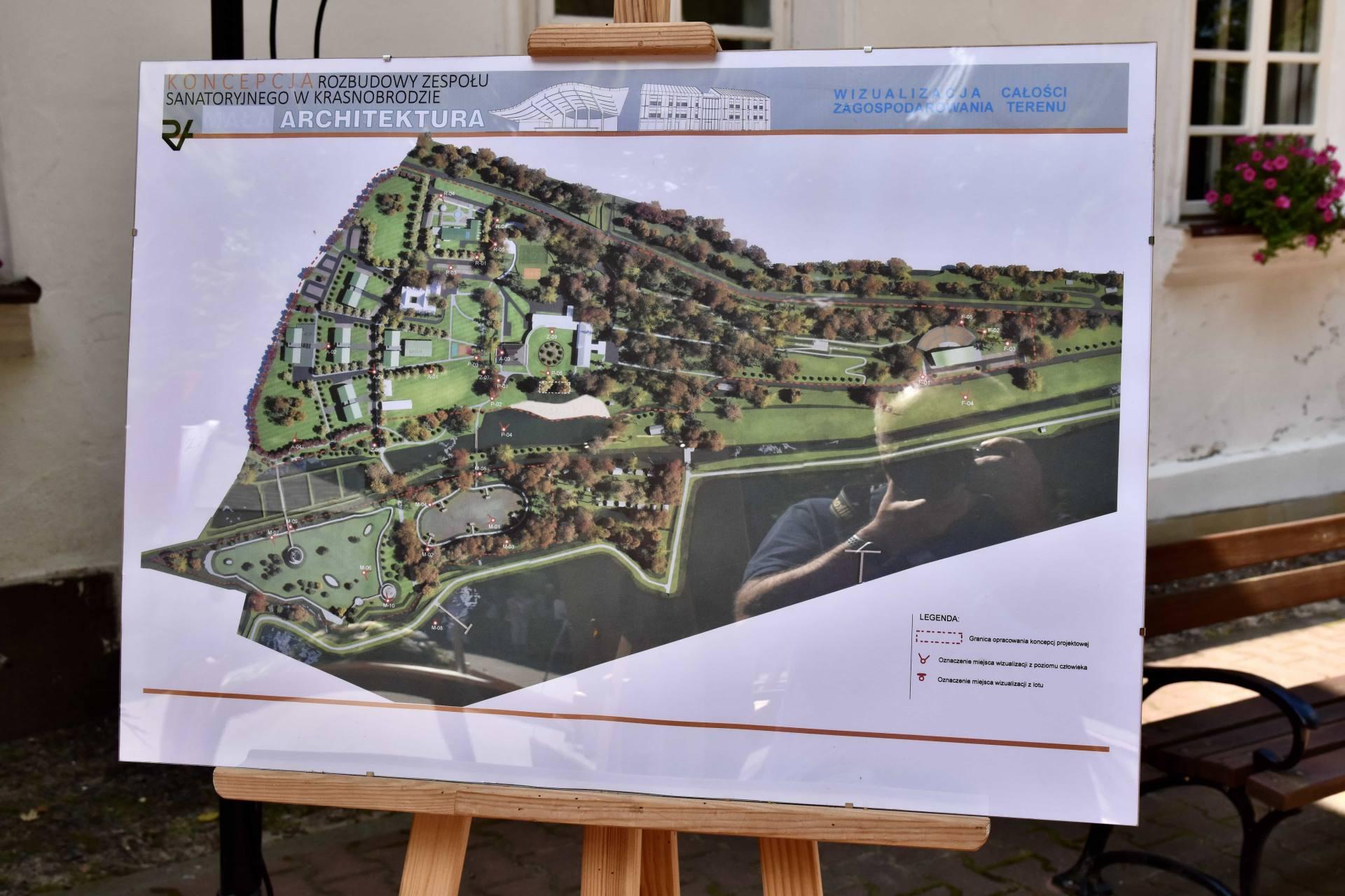 dsc 7390 Za 80 mln zł rozbudowane zostanie sanatorium w Krasnobrodzie.