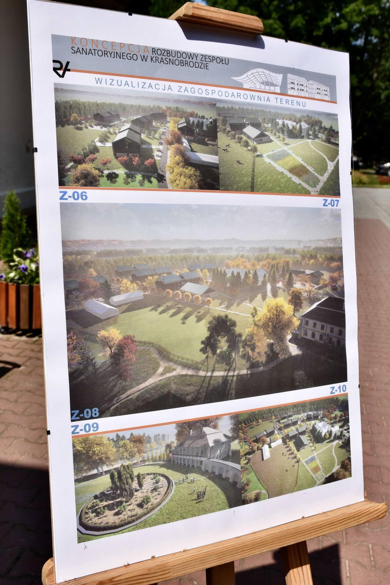 dsc 7391 Za 80 mln zł rozbudowane zostanie sanatorium w Krasnobrodzie.
