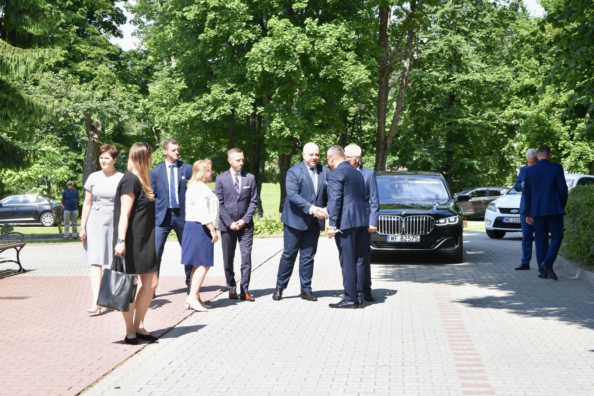 dsc 7401 Za 80 mln zł rozbudowane zostanie sanatorium w Krasnobrodzie.