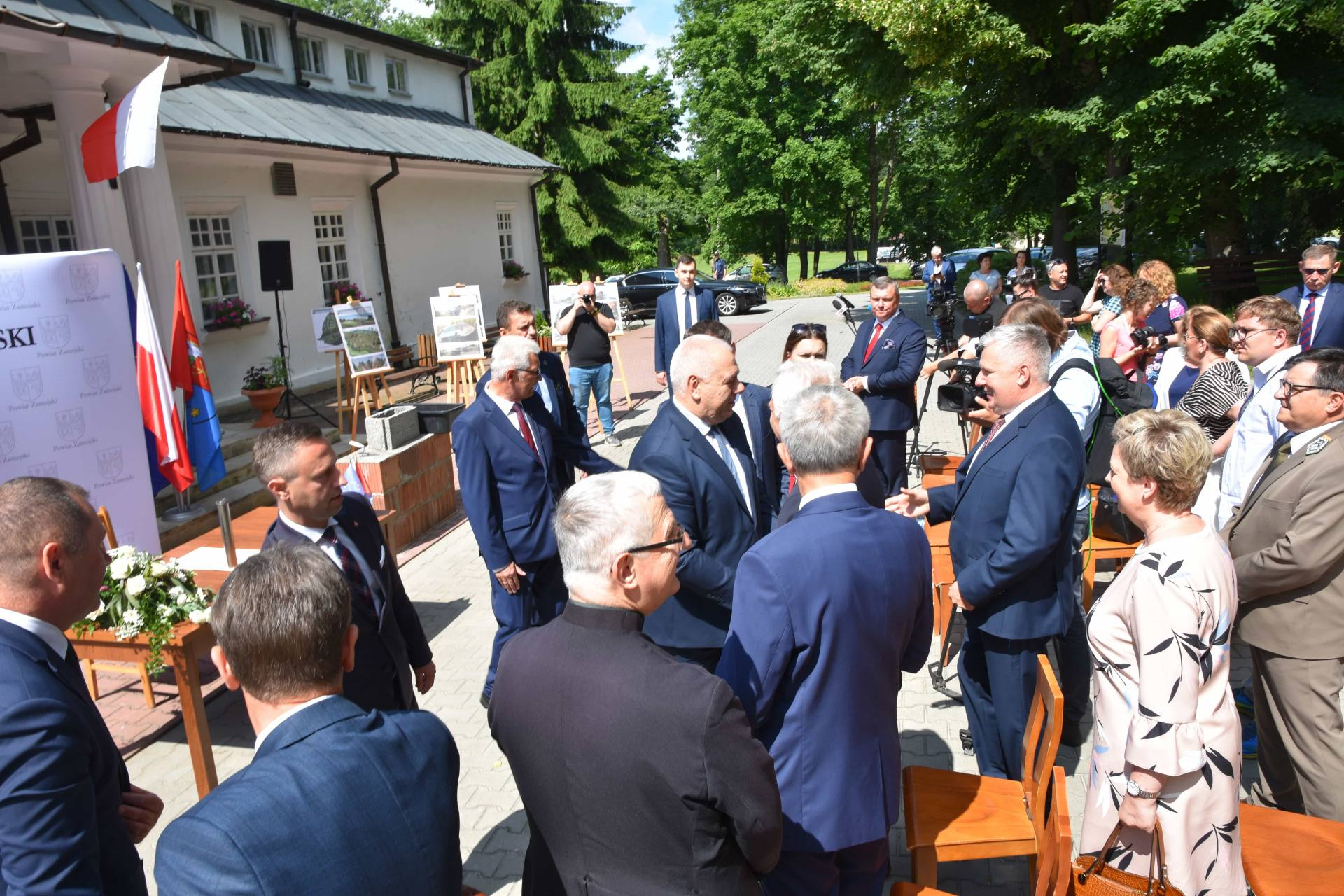 dsc 7419 Za 80 mln zł rozbudowane zostanie sanatorium w Krasnobrodzie.