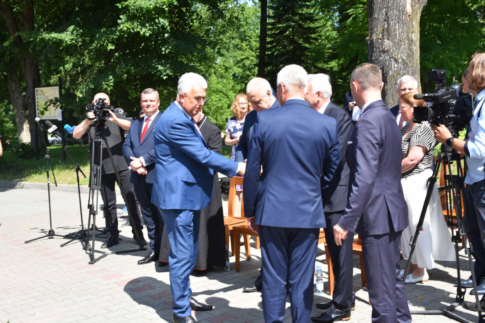 dsc 7423 Za 80 mln zł rozbudowane zostanie sanatorium w Krasnobrodzie.