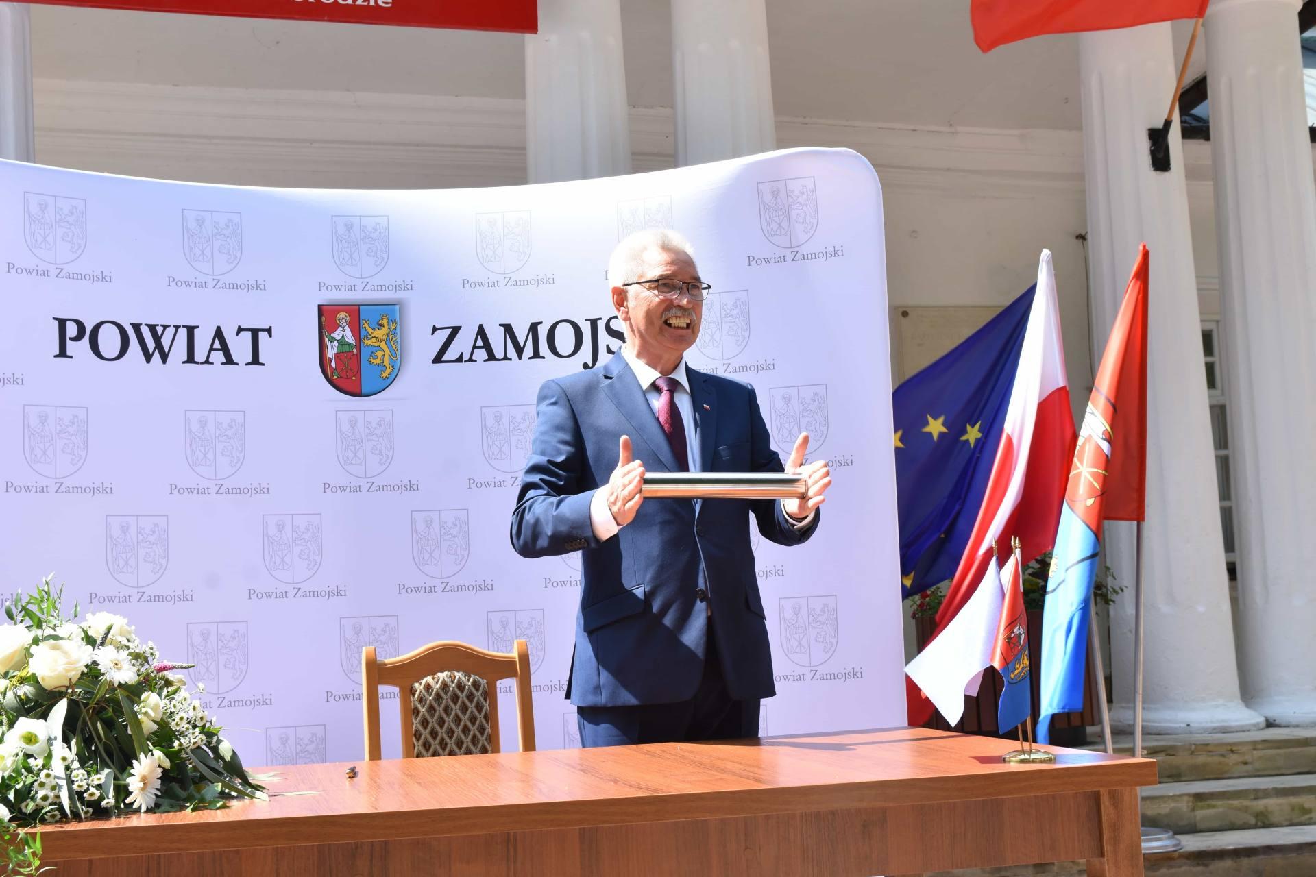 dsc 7503 Za 80 mln zł rozbudowane zostanie sanatorium w Krasnobrodzie.