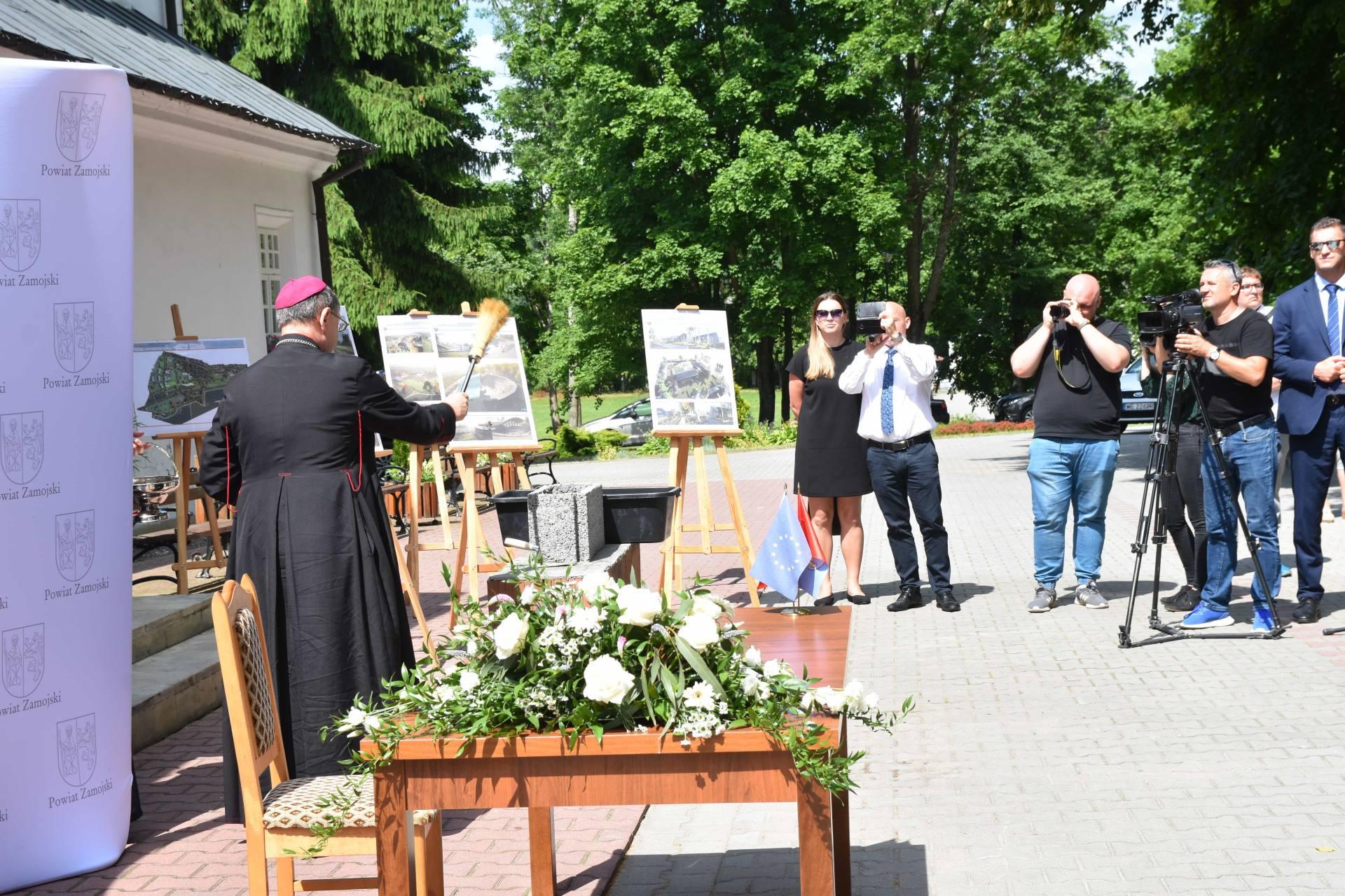 dsc 7515 Za 80 mln zł rozbudowane zostanie sanatorium w Krasnobrodzie.